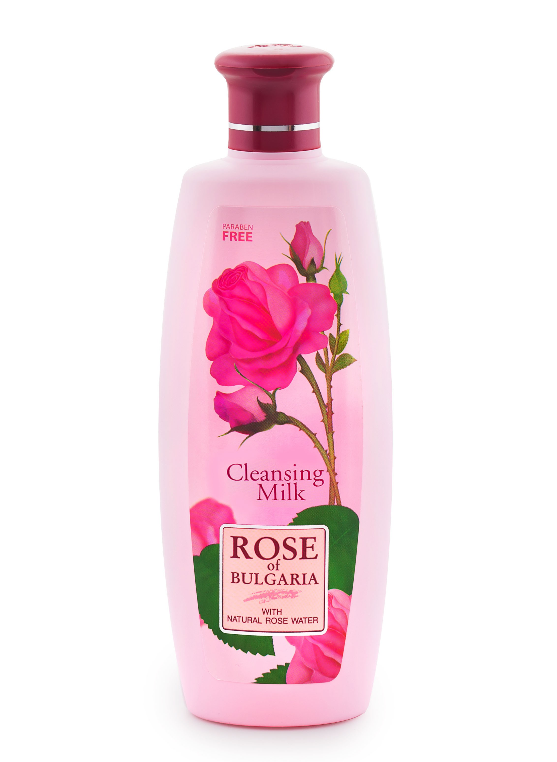 Čistící mléko s růžovou vodou 330 ml