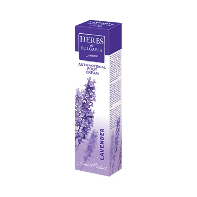 Krém na nohy levandulový Herbs of Bulgaria Lavender 75 ml