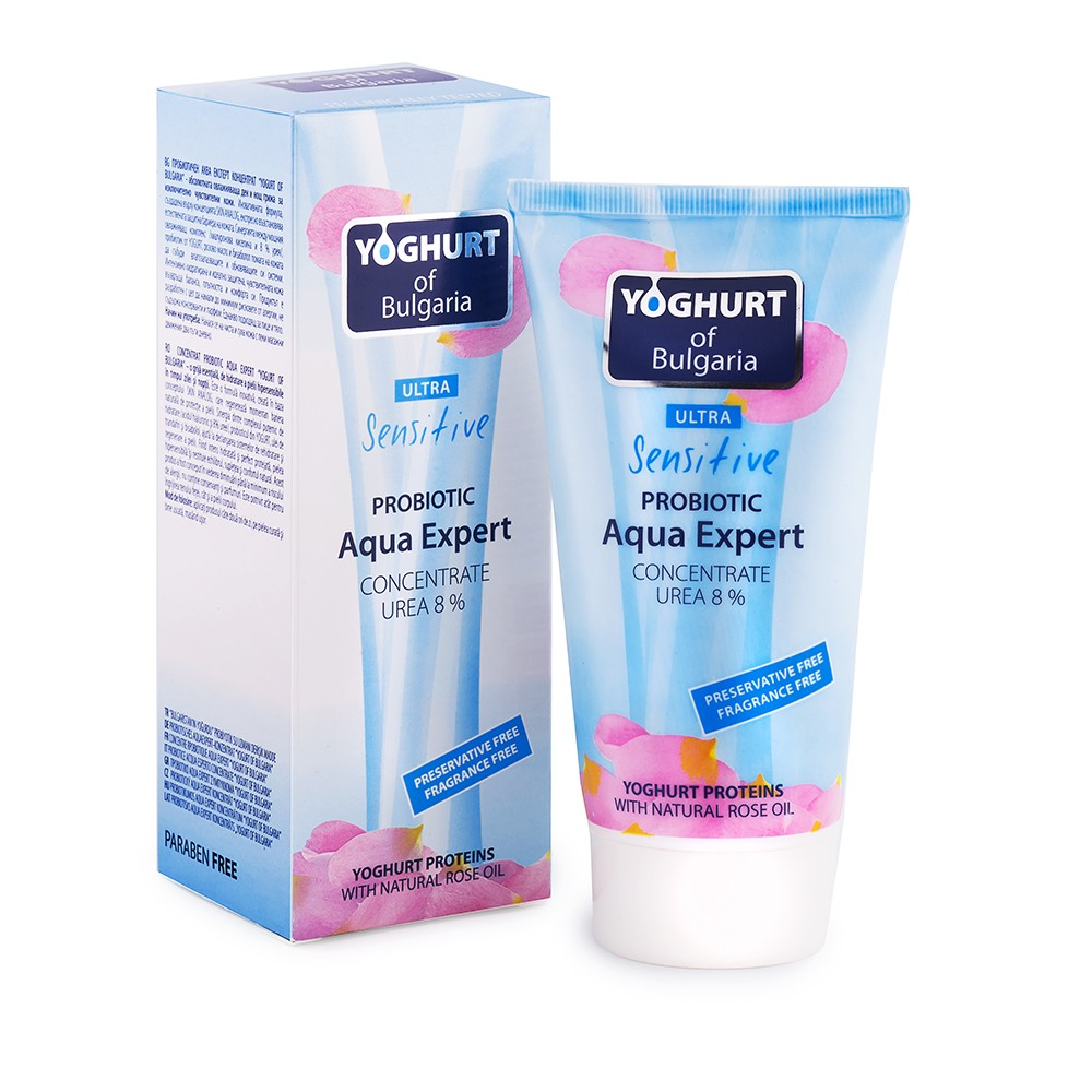 Probiotický krém na tělo a obličej  Aqua Expert s Urea 8%, 150ml