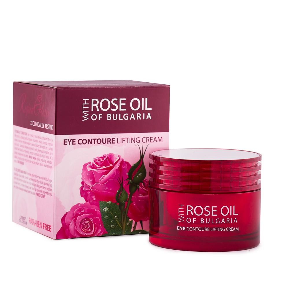 Liftingový krém na oční okolí  makadam, jojoba, růže 30 ml