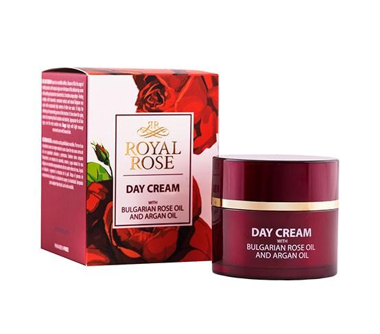 Denní krém s růžovým a Arganovým olejem, Royal Rose