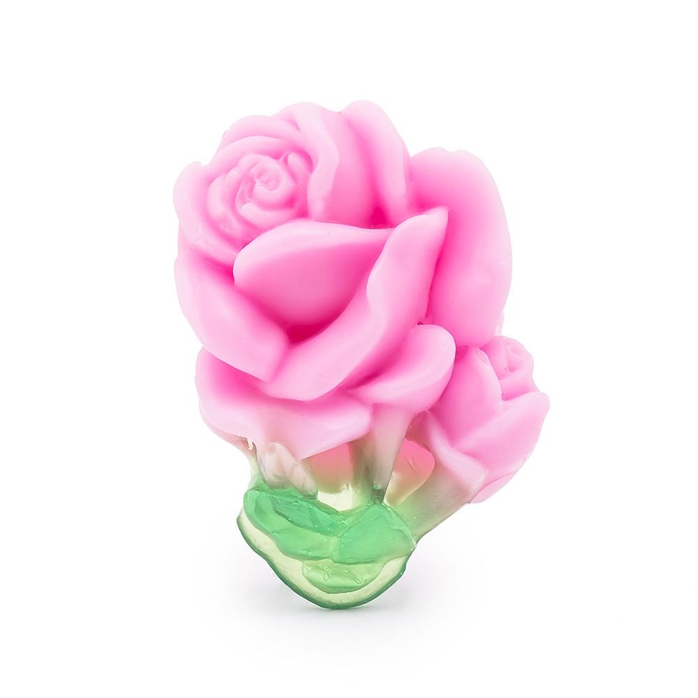 Glycerinové mýdlo Rose of Bulgaria Bio Fresh-Rose 40 g ruční výroba