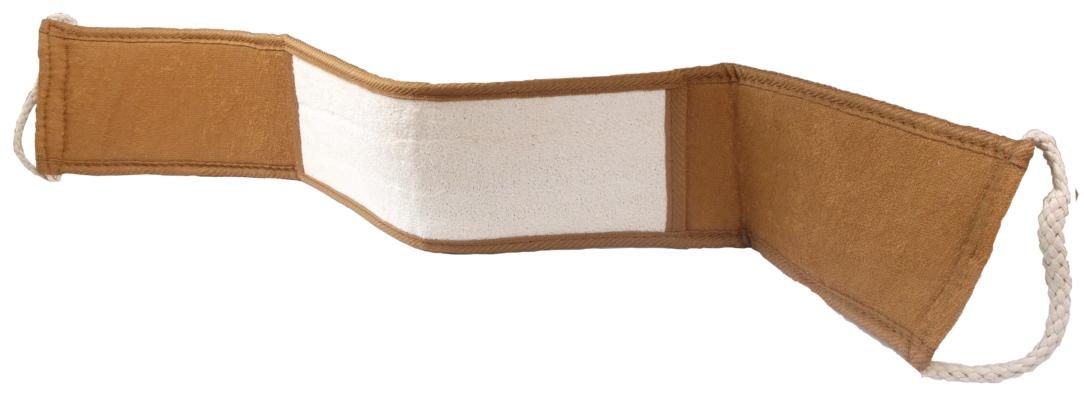 154 MAGNUM Masážní pás lufa a bavlna do koupelny